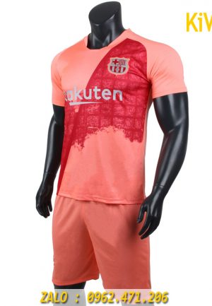 Áo Bóng Đá CLB Barcelona 2018 - 2019 Màu Hồng ( Sân Khách ) rất đẹp