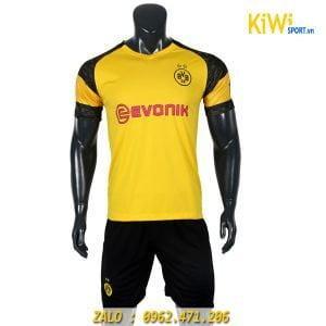 Áo bóng đá CLB Dortmund 2018 - 2019 sân nhà màu vàng đẹp mắt