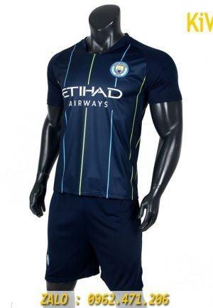 Áo bóng đá CLB Manchester City 2018 - 2019 màu xanh đen độc đáo