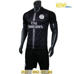 Áo bóng đá đẹp mẫu áo CLB PSG 2018 - 2019 màu đen cực chất