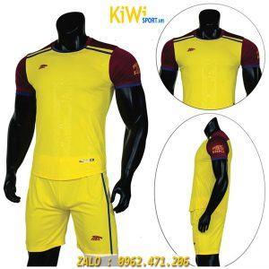 Áo bóng đá không logo Riki Namor màu vàng cực chất