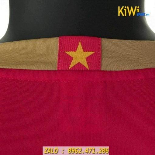 Áo bóng đá tuyển Việt Nam 2019 màu đỏ mẫu mới nhất