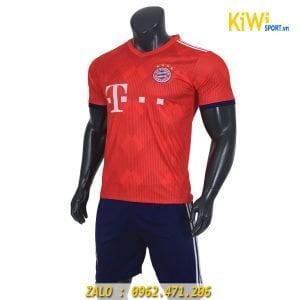 Áo bóng đá CLB Bayern Munich 2018 - 2019 màu đỏ rất đẹp