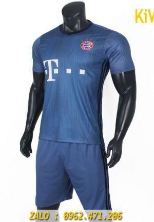 Áo bóng đá CLB Bayern Munich 2018 - 2019 sân khách màu xám