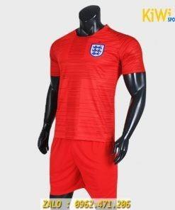 Áo đá banh đội tuyển anh thi đấu world cup 2018 màu đỏ rất đẹp