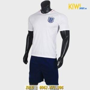 Áo đá bóng tuyển anh thi đấu World Cup 2018 màu trắng rất đẹp