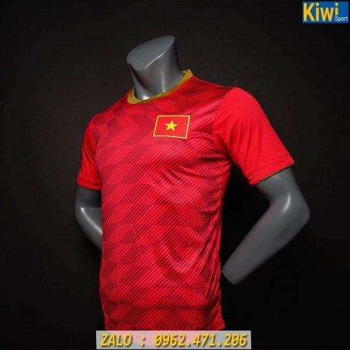 Áo Đấu Đội Tuyển Việt Nam 2019 - 2020 Màu Đỏ