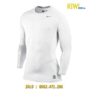 Áo Lót Body Dài Tay Nike Màu Trắng Siêu Đẹp