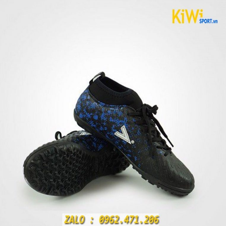 Giày đá bóng Mitre 170501 đế TF màu đen hàng chính hãng