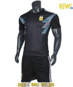 Áo bóng đá tuyển Argentina world cup 2018 màu đen
