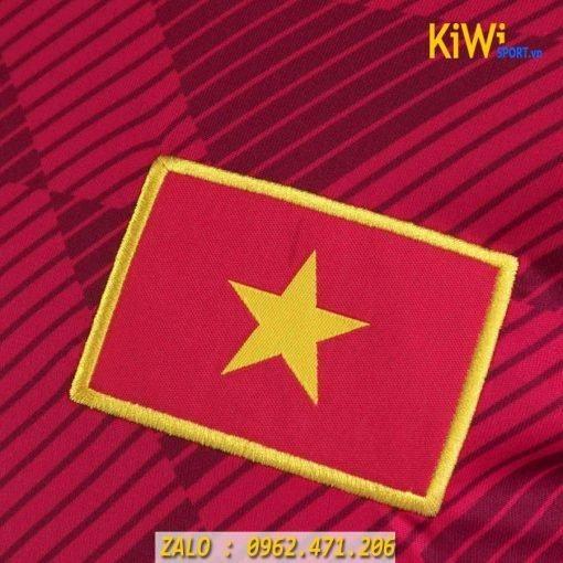 Áo bóng đá tuyển Việt Nam 2019 màu đỏ mới nhất