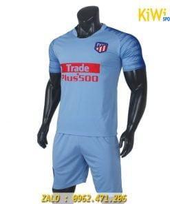 Quần áo bóng đá CLB Atletico Madrid 2018 - 2019 màu xám cực chất