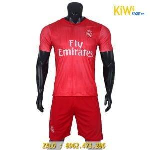 Quần áo bóng đá CLB Real Madrid 2018 - 2019 màu hồng rất đẹp