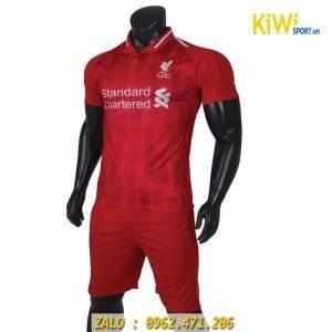 Áo bóng đá CLB Liverpool đỏ mùa 2018 - 2019 đẹp mắt