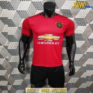 Áo Bóng Đá CLB Manchester United Màu Đỏ Mùa 2019 - 2020