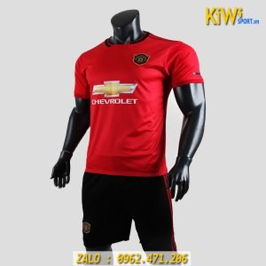 Mẫu Áo Bóng Đá CLB Manchester United 2019 - 2020 Màu Đỏ Sân Nhà Rất Đẹp