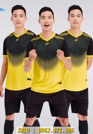 Áo Đá Banh Không Logo Mẫu Winner Màu Vàng
