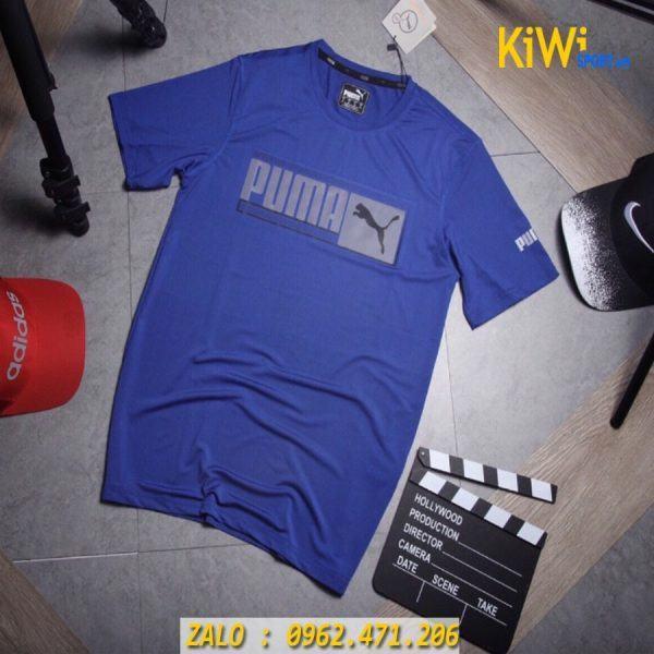 Bỏ sỉ áo thể thao nam Puma Faster 2019 màu xanh