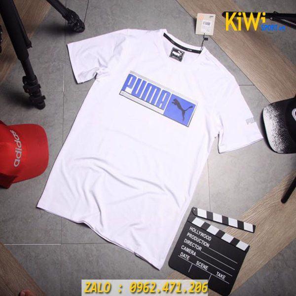 Chuyên bán sỉ áo thể thao Puma Faster 2019 màu trắng tuyệt đẹp
