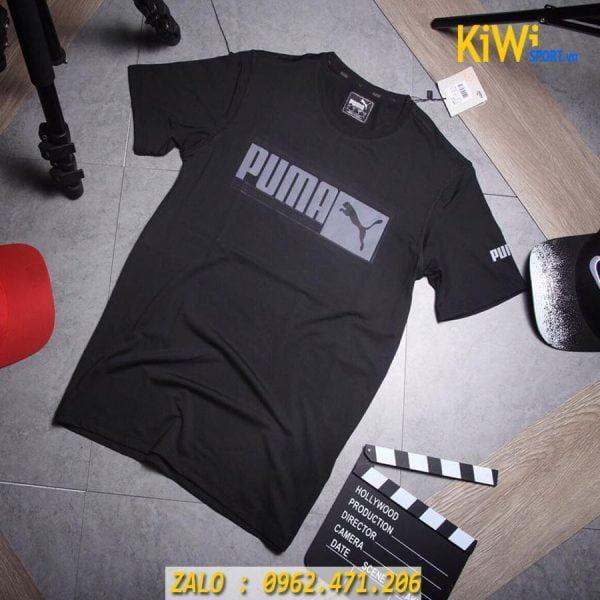 Chuyên sỉ áo thể thao Puma Faster 2019 màu đen cưc chất