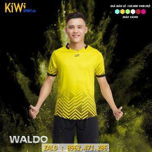 Đặt Áo Bóng Đá Không Logo Waldo Màu Vàng