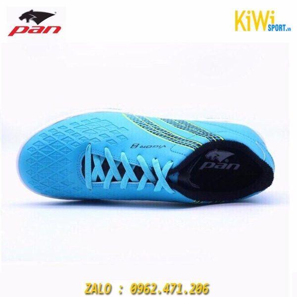 Giày Bóng Đá Pan Vigor 8 Màu Xanh Da Đế TF Hàng Thái Siêu Đẹp