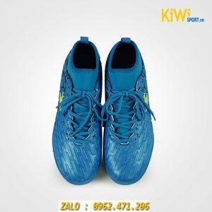 Giày đá banh cỏ nhân tạo Mitre 170501 Đế TF chính hãng màu xanh biển