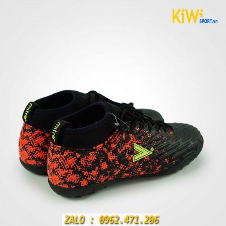 Giày Đá Bóng Mitre 170501 Đế TF Màu Đỏ Rất Đẹp