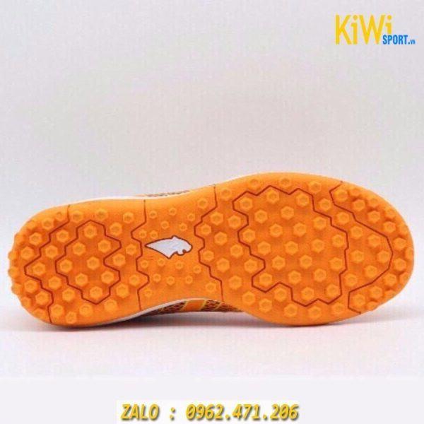 Giày đá bóng Pan Vigor 8 Đế TF màu cam hàng Thái Lan Chính Hãng