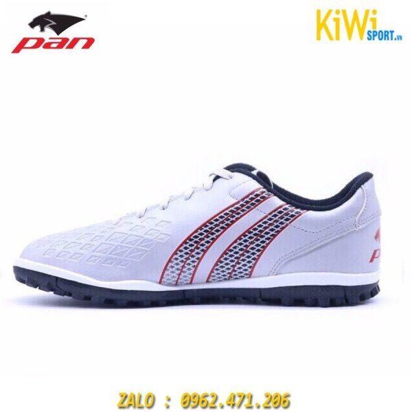 Giày Bóng Đá Pan Vigor 8 Đế TF Màu Trắng Hàng Thái Lan Cao Cấp