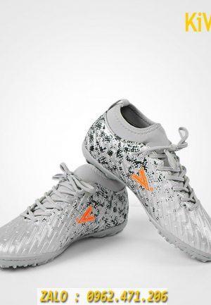 Giày đá banh Mitre màu xám hàng chính hãng cao cấp