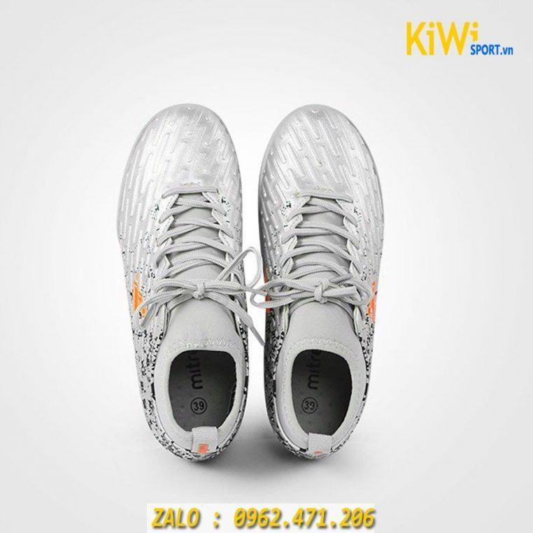 Giày đá bóng Mitre 170501 đế tf màu xám rất đẹp