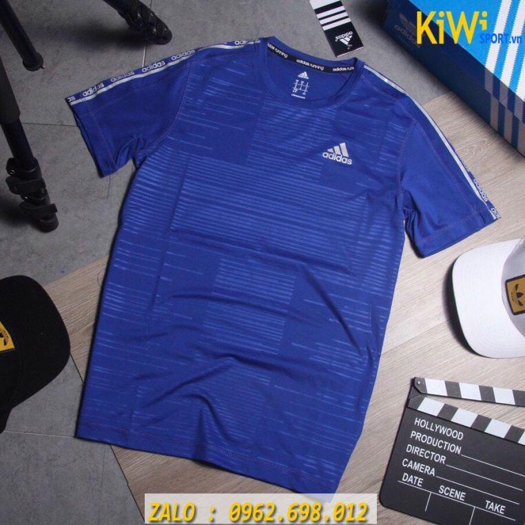 Xưởng Buôn Sỉ Áo Thể Thao Adidas Climachill 2019 Màu Xanh