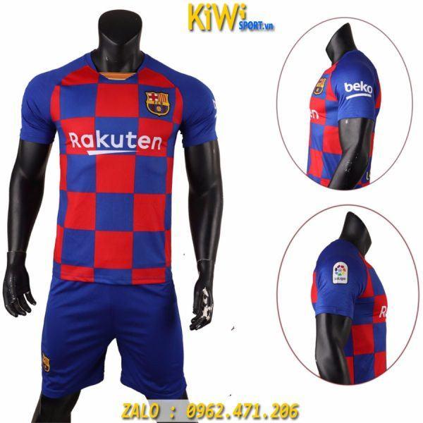 Áo Bóng Đá CLB Barcelona 2019 - 2020 Sân Nhà Sọc Xanh Đỏ