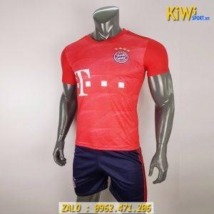 Áo Bóng Đá CLB Bayern Munich 2019 - 2020 Sân Nhà Màu Đỏ