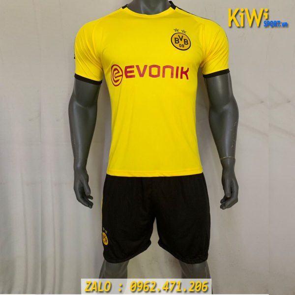 Áo Bóng Đá CLb Dortmund 2019 - 2020 Màu Vàng Thi Đấu Sân Nhà