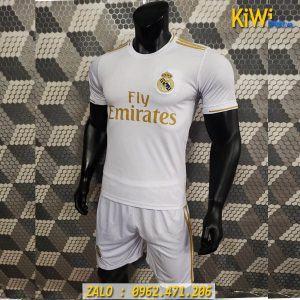 Áo Bóng Đá CLB Real Madrid 2019 - 2020 Sân Nhà Màu Trắng