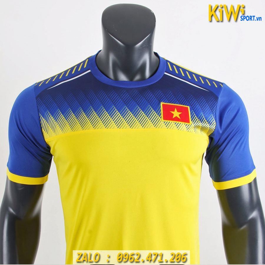 áo đá Banh Training Tuyển Việt Nam 2019 Màu Vàng