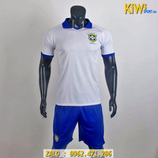 Áo Bóng Đá Tuyển Argentina 2019 Màu Trắng Thi Đấu Copa America