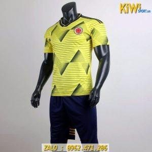 Áo Bóng Đá Tuyển Colombia 2019 Thi Đấu Copa America Màu Vàng