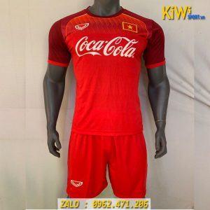 Áo Đá Banh Training Tuyển Việt Nam 2019 - 2020 Màu Đỏ