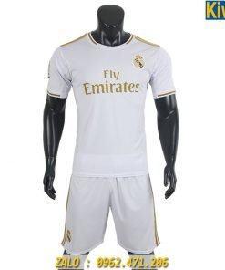 Áo Đấu CLB Real Madrid 2019 - 2020 Sân Nhà Màu Trắng
