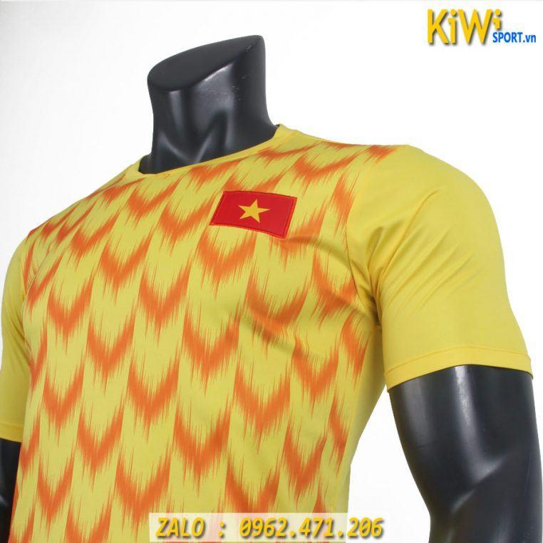 Áo Thủ Môn Tuyển Việt Nam 2019 Màu Vàng Hàng Chất Lượng