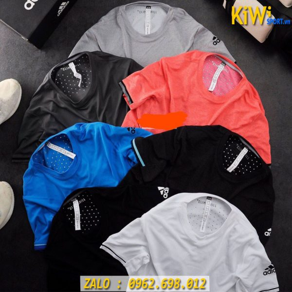 Chuyên Sỉ Áo Thể Thao Nam Mẫu Adidas Đính Nhôm Rất Đẹp