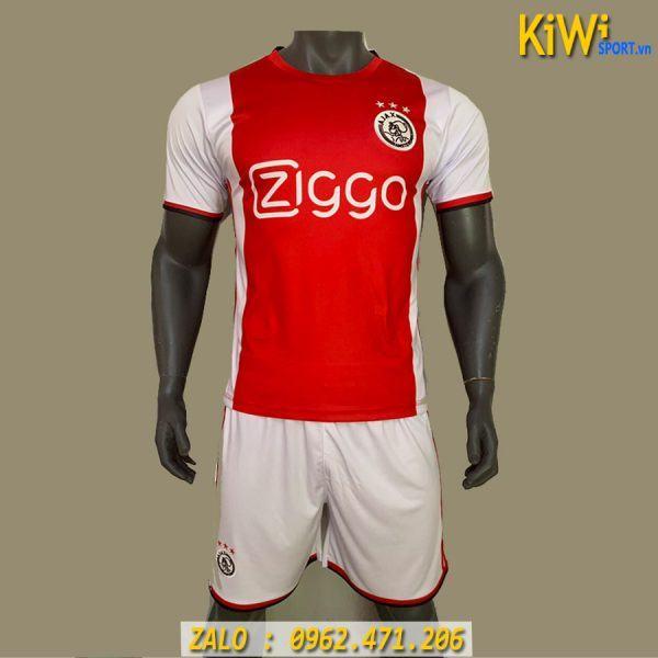 Mẫu Áo Bóng Đá CLB Ajax 2019 - 2020 Sân Nhà Màu Đỏ