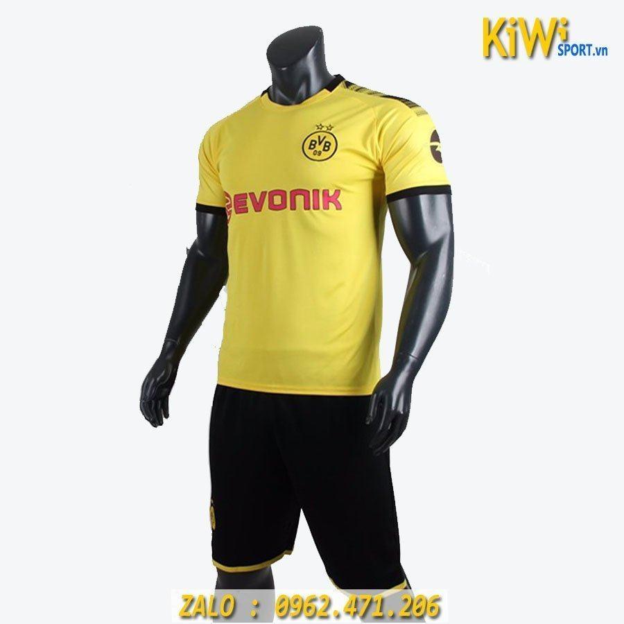 áo Bóng đá Clb Dortmund 2019 2020 Màu Vàng Thi đấu Sân Nhà