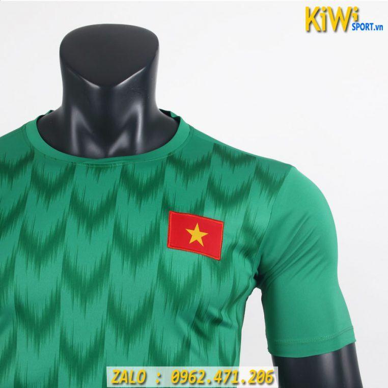 Áo Thủ Môn Tuyển Việt Nam 2019 Màu Xanh Lá Mẫu Mới Nhất