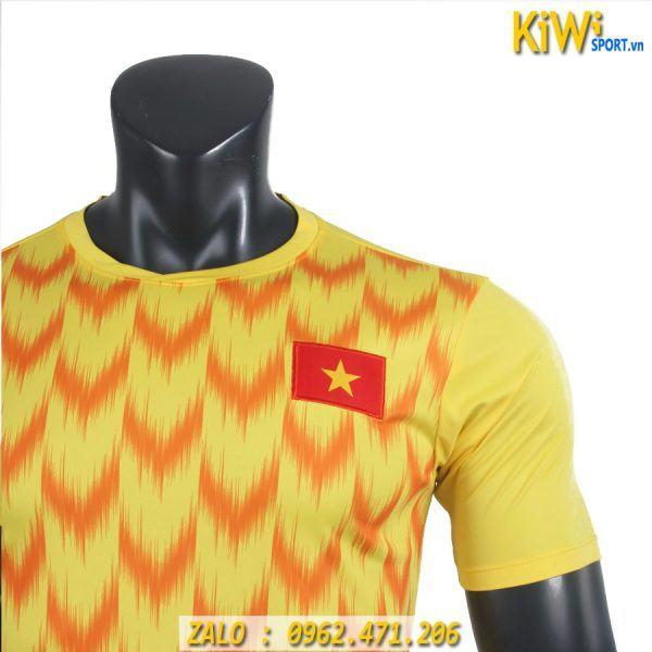 Áo Thủ Môn Tuyển Việt Nam 2019 Màu Vàng Giá Rẻ