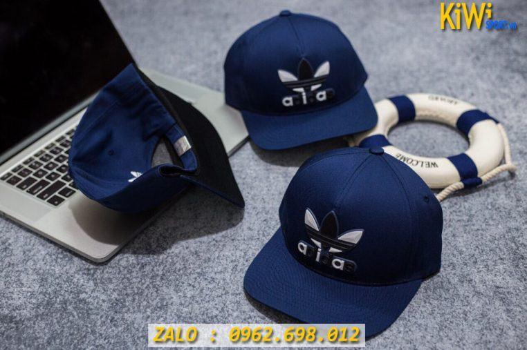 Xưởng Sỉ Nón Thể Thao Adidas Màu Xanh Đen Chất Cao Cấp