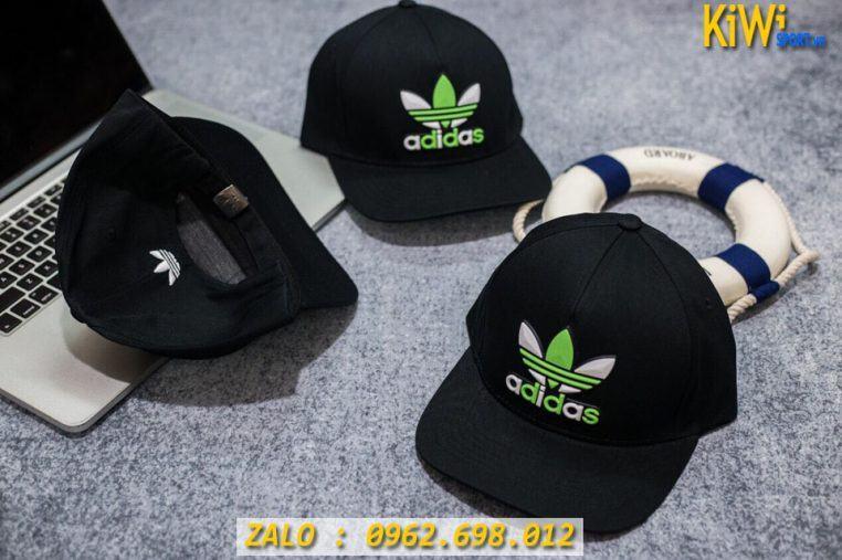 Xưởng Sỉ Nón Thể Thao Adidas Màu Đen Chất Đẹp